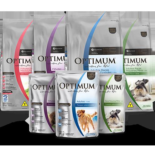 Ração Super Premium para Cães Optimum